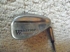Men right handed regular steel Warrior lob wedge