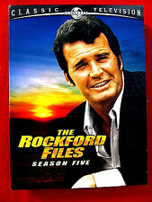 The Rockford Files:Season 5 Five 5 DVDs Mint OOP James Garner Joe Santos 22 epis
