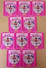 L.O.L. Surprise! ~ Panini Sticker Collection ~ 10 x Sealed Packs = 50 Stickers