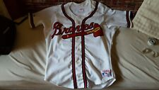 Rawlings Atlanta Braves Warren Spahn vintage Base Ball jersey mens M
