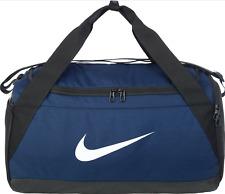 Nike Brasilia Duffel Bag Small Midnight Navy/Black/White Size Small  BA5976-410