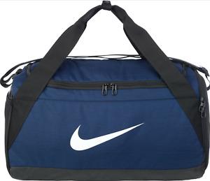 Nike Brasilia Duffle Bag Small Midnight Navy/Black/White Size Small  BA5976-410