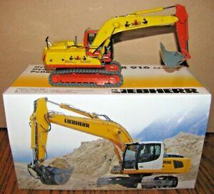 Liebherr R916 Advanced Hydraulic Excavator 1:50 NZG Toy 685 Die Cast RARE COLOR!