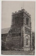 Northamptonshire postcard - Northampton, St Peter's Church Tower (A24)