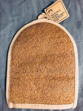 *New w/ Tags* The Body Shop Smooth & Renew Loofah Mitt Discontinued*Vintage