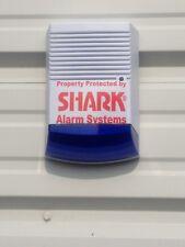 Dummy Burglar Alarm Bell Box Solar Battery Powered Dummy Alarm Siren Blue Lens