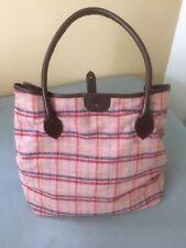Boden Pink Tweed Handbag Vintage