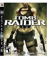 Tomb Raider: Underworld PlayStation 3, PS3 Game Collectible