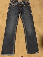 tru religion jeans for Men Joey T Super Size 36W 33L