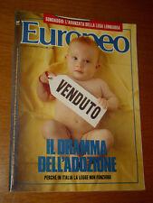 L'EUROPEO 1990/13=ALBERTO VITALE=TIZIANA FABBRICINI=ERRI DE LUCA DONINELLI=