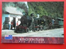 POSTCARD KINGSTON FLYER - NEW ZEALAND - AB CLASS STEAM LOCOMOTIVE