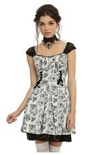 NWT Pride + Prejudice + Zombies Lace Up Sweetheart Dress Hot Topic Victorian XL