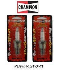 CHAMPION 2 CANDELE 8405 POWERSPORT PER HARLEY DAVIDSON SHOVELHEAD FL 1340 1980
