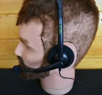Official Microsoft Wired Headset Xbox 360 For Xbox 360 Microphone Mic Black