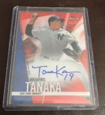 2017 TOPPS FINEST MASAHIRO TANAKA RED WAVE ON CARD AUTO AUTOGRAPH 21/25 NICE