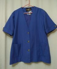 New Without Tags David Barry Jacket Size 20 Blue