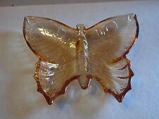 "Open Candy Dish in Butterfly Marigold Carnival by Jeannette 8 1/4"" Wide"