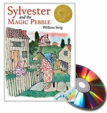 Sylvester and the Magic Pebble by William Steig (1987, Paperback & Audio CD) NEW
