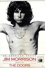 JIM MORRISON DOORS - Original 1978 Promo Poster - AN AMERICAN PRAYER - Elektra