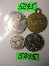 4 x  tokens  ISRAEL.      12   gms      Mar5295