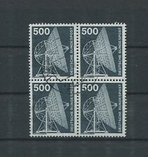 BUND 859 500 Pf DAUERSERIE INDUSTRIE & T. 1975 4er-Block gestempelt c4250