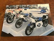 Vintage Works Racing Triumph Models National Motorcycle Museum Postcard