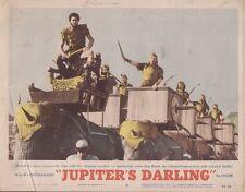Jupiter's Darling 11x14 Lobby Card #6