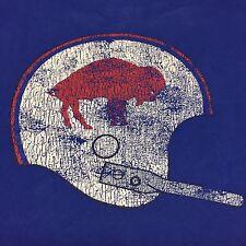 Buffalo Bills Gridiron Classic NFL T-Shirt Football Legend Large Helmet Reebok