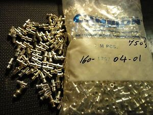 50PCS CAMBION TURRET TERMINALS 160-1797-04-01 SILVER PLATED