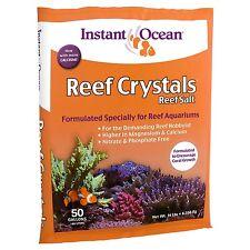 Instant Ocean Reef Crystals Reef Salt 50-Gallon