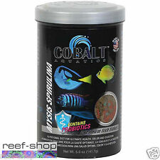Fish Food Flakes Cobalt Mysis Spirulina 5 oz FREE USA SHIPPING