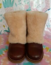 UGG LEATHER SHEEPSKIN BOOTS 7