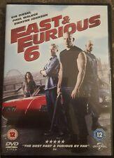 FAST AND FURIOUS 6 DVD VIN DIESEL PAUL WALKER