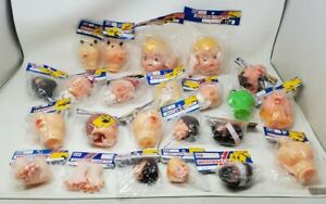 Vintage Westrim Craft Dolls Crafting Lot of 23 Doll Animal Heads Assorted New