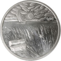 1 oz .999 Fine Silver Ends of the Earth Silverbug Island Silver Round BACKORDER