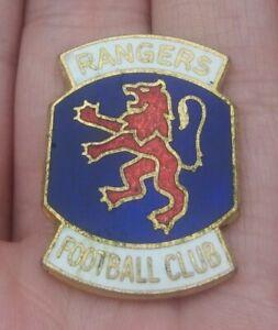 RANGERS FOOTBALL CLUB VINTAGE 1970'S PIN BADGE RARE VGC