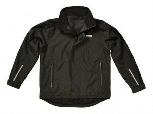 DeWalt Aurora Waterproof Jacket Black - Lightweight Hooded Waterproof Coat
