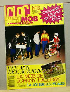 Magazine Clac Mob N°13 - moto mobylette scooter solex