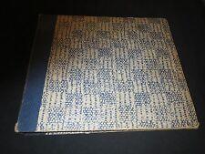 78RPM White Blue Record Album for 9- 10 inch 78s-Medium Wear 9 sleeves storage