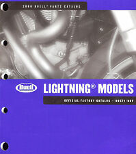 2006 BUELL LIGHTNING MOTORCYCLE PARTS CATALOG MANUAL -XB9SX-XB12S-XB12Scg-XB12Ss