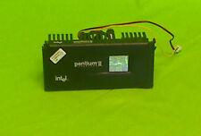 Intel Pentium II CPU mit Kühlkörper und Lüfter SL2HD  98090692-0333