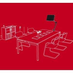 Büro Schreibtisch Werkstatt Halterung Tablet iPad 10-13 Zoll Schraubklemme Alu