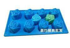 Rose Soap Mold Cake Mold Silicone Mould For Candy Chocolate
