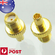 Gold Plating Adapter Ts9 Male Plug to SMA Female Jack RF Connector Straight IO