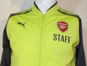 Puma AFC ARSENAL LONDON STADIUM STAFF Gr. S Jacke Damen/Kinder 751986 14