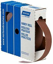 Norton Abrasives 66261134303 - Uncut Sanding Roll - P240 Grit, Aluminum Oxide, 1