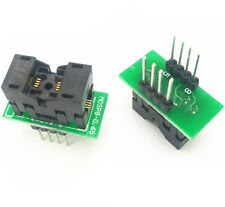 1PCS MSOP8 to DIP8 MCU Test IC socket Programmer adapter Socket L