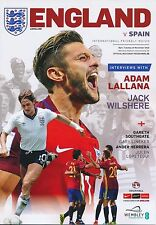ENGLAND v Spain (Friendly @ Wembley Stadium) 2016