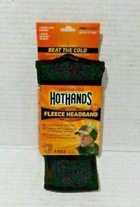 Hot hands/Heated Fleece Headband & 1 pair of Hot hands Warmers Pro Series. NIP