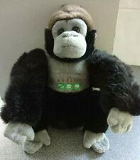"Silverback Gorilla Soft Toy Dublin Zoo 10"" 25cm"